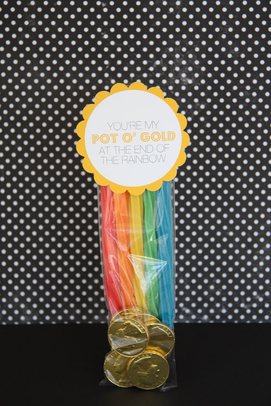 pot o' gold favor for St. Patrick's Day from it is what it is