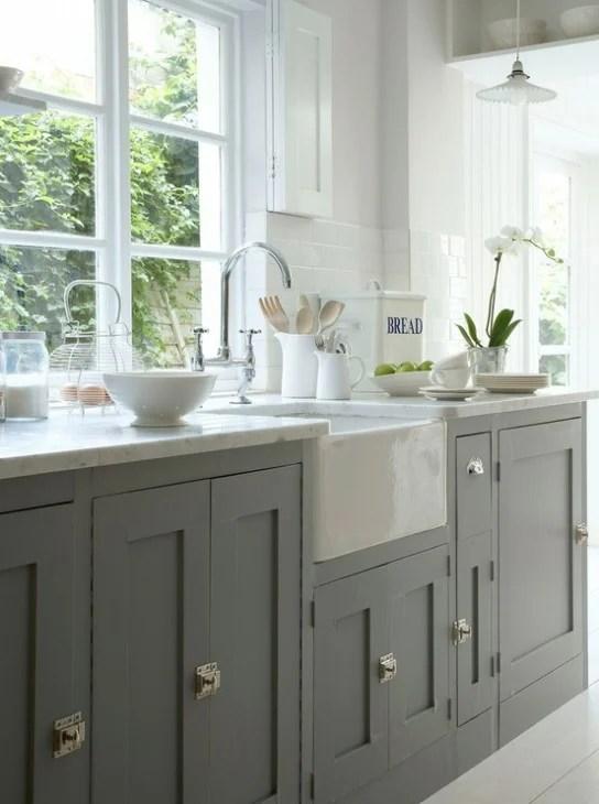 Blog Con Queso gray cabinets