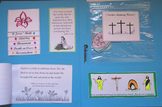 Book of Mormon Discovery Easter lapbook
