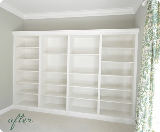 Centsational Girl bookcases