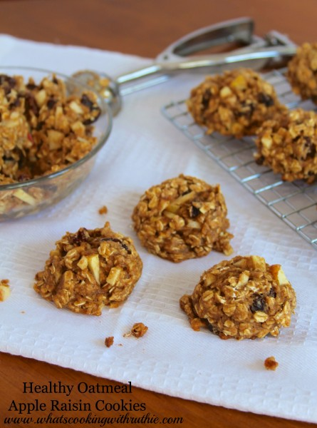 Healthy-Oatmeal-Apple-Raisin-CookiesB-445x600