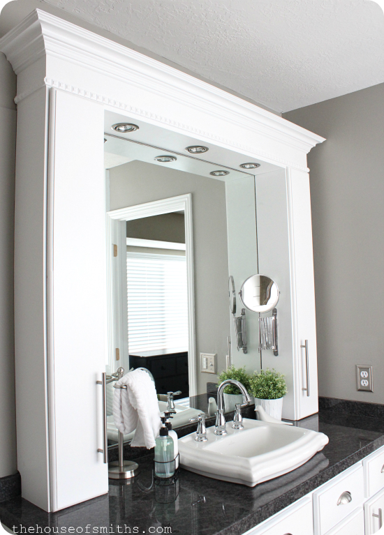 House of Smiths vanity built ins
