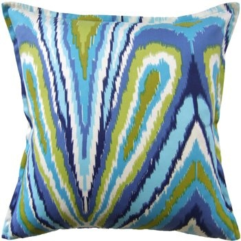 Inside Avenue peacock pillow