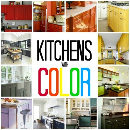 Kitchens with Color Pin Pic