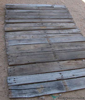 Mandy Jean Chic pallet wall 4