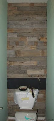 How to build a pallet wall Remodelaholic