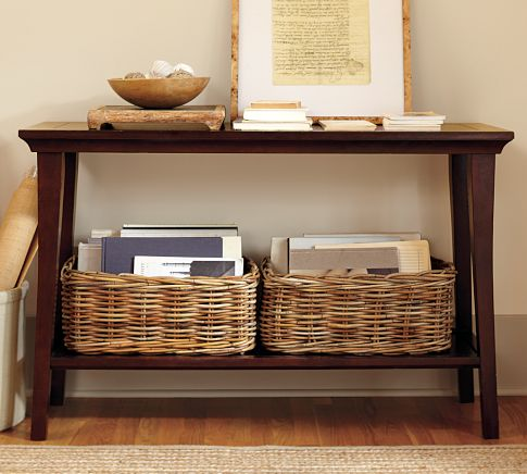 Metropolitan Console table pottery barn
