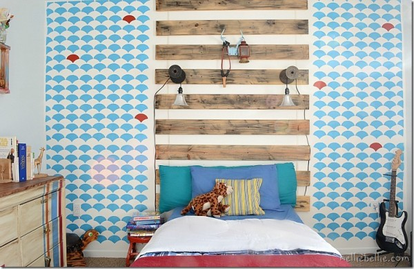 Nellie Bellie fish scale wall