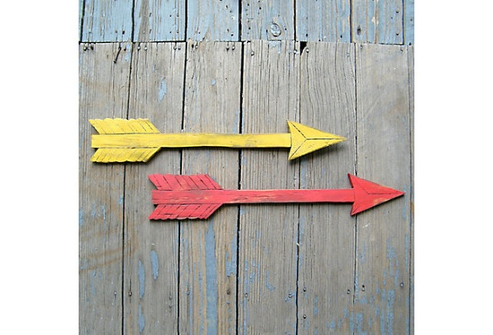 One Kings Lane arrow wall decor