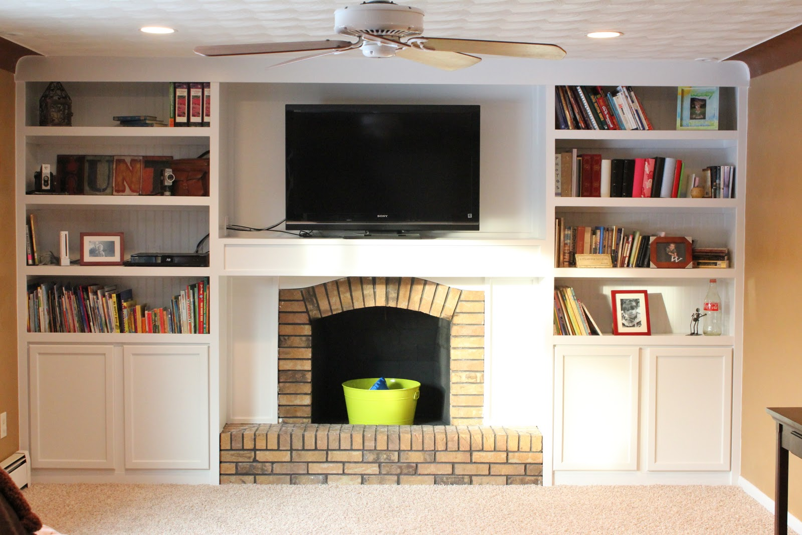 Incroyable Remodelaholic Built Ins Around Fireplace