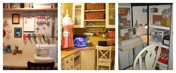 Sewing Space collage
