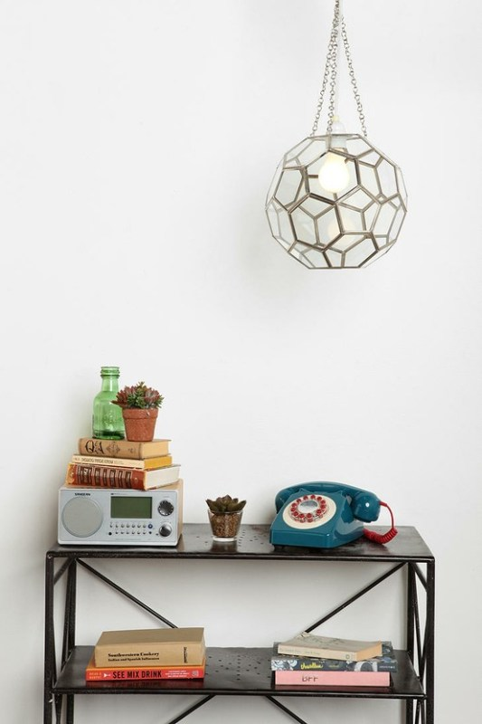 Urban Outfitters honeycomb light