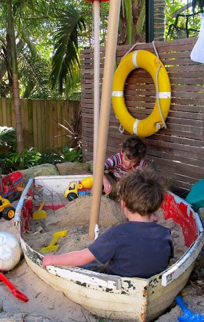 Desire Empire boat sandbox