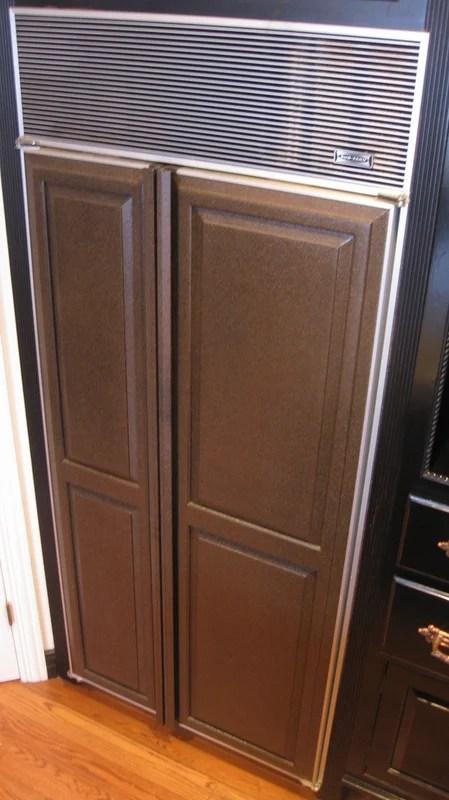 Redhead Can Decorate copper fridge