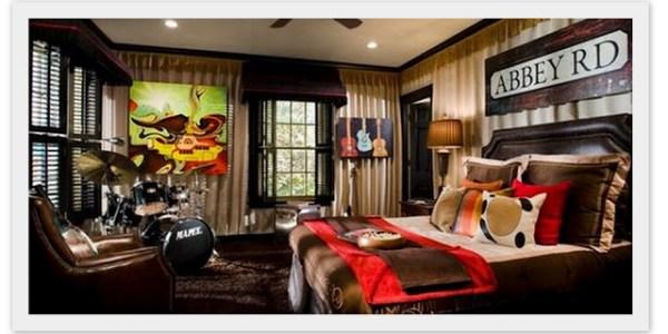 Sanity Fair showhouse Beatles room