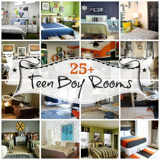 Cool Bedroom Ideas For Teenage Guys: 25+ Great Bedrooms For Teen Boys