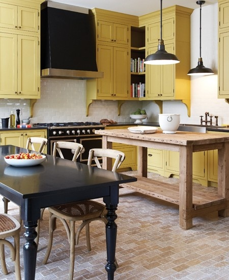 Hgtv Painting Kitchen Cabinets: Beautifully Colorful Painted Kitchen Cabinets