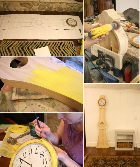 building the clock
