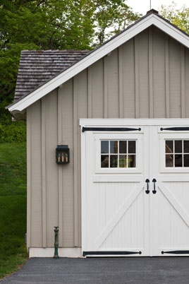 Board and Batten garage