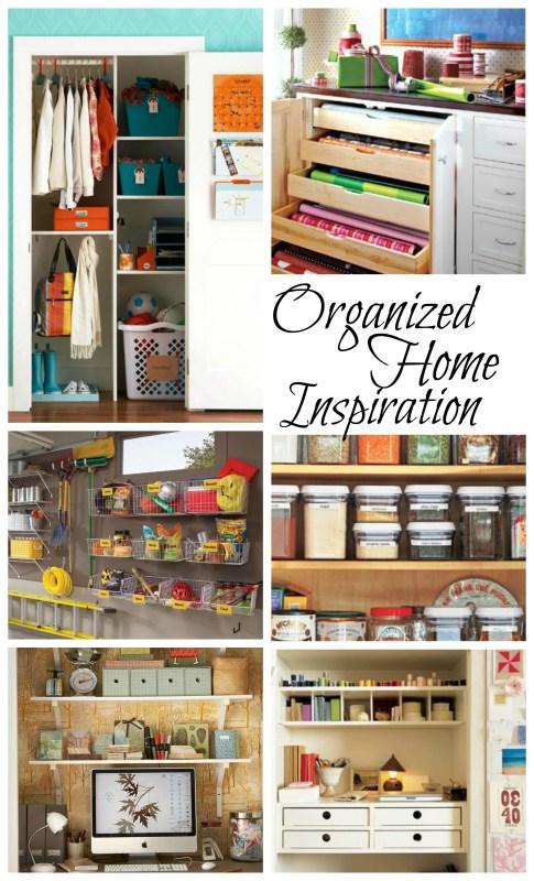 Organized Home Inspiration ideas