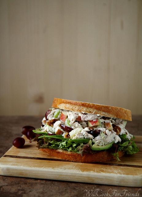 healthy summer chicken salad recipe