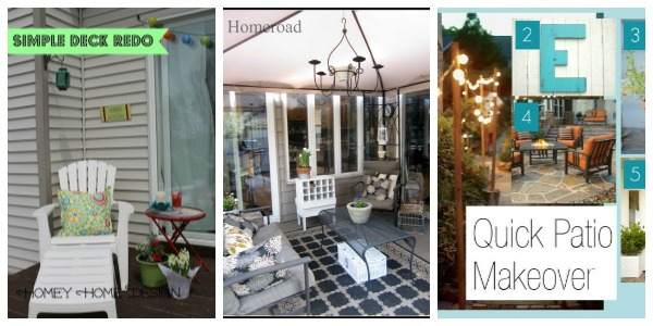 party features - patios and gardens