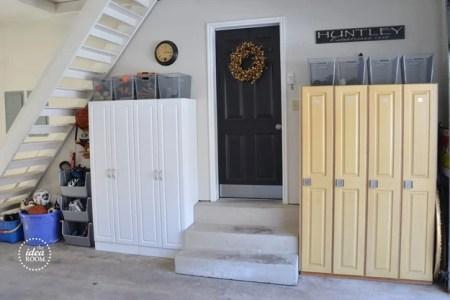 organized garage clutter, The Idea Room
