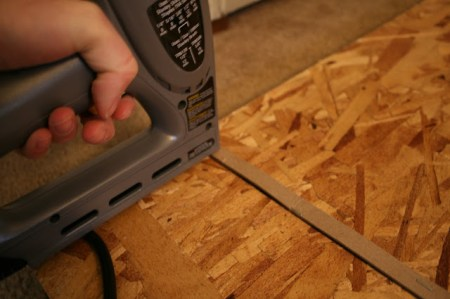 build a diy nailhead tufted headboard
