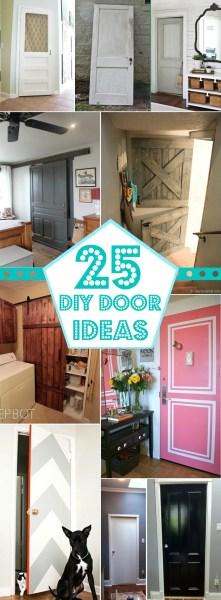 25+ Great DIY Door Ideas Remodelaholic #doors #DIY #decorating
