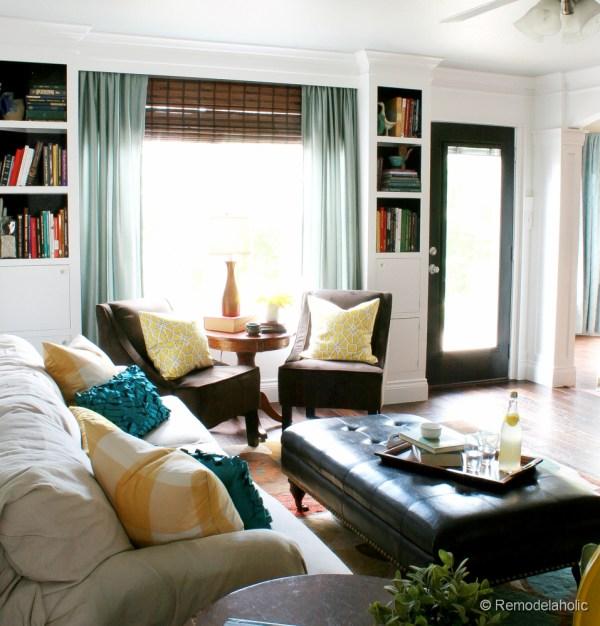 Living Room Reveal (Finally