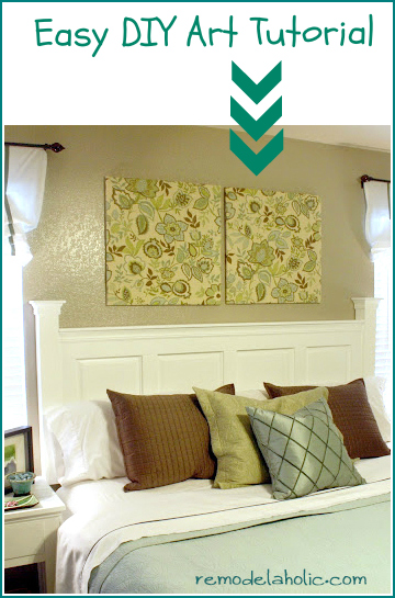 Remodelaholic easy DIY art tutorial
