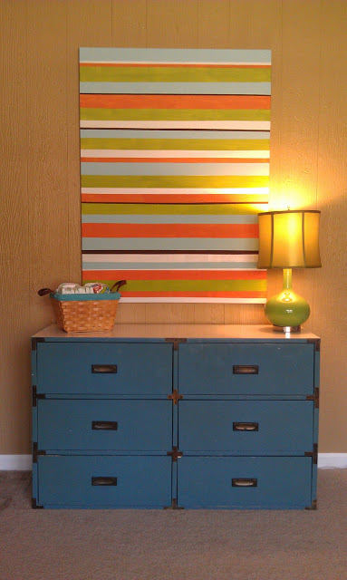 Striped-Art-Canvas-Tutorial-DIY WALL ART