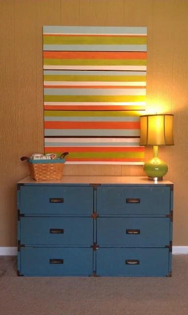 Striped-Art-Canvas-Tutorial-DIY WALL ART