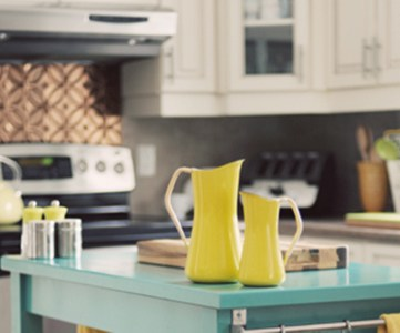 Trending Now: Color in the Kitchen