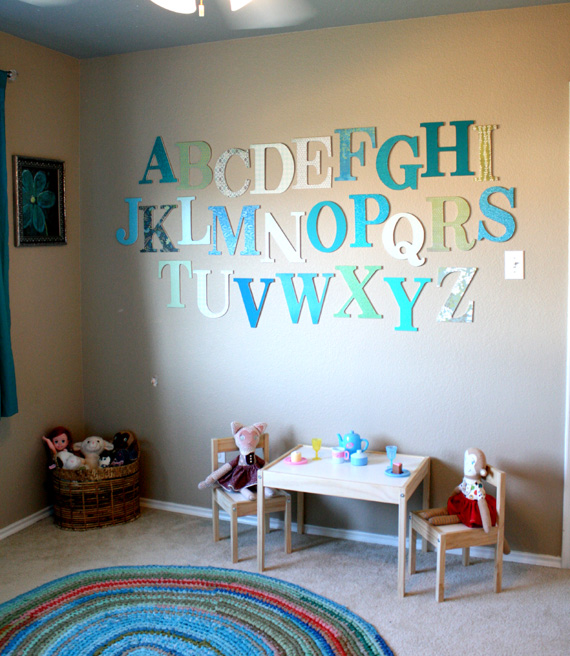 Kids Room Wall Design: 25 Art Ideas For Kids' Rooms