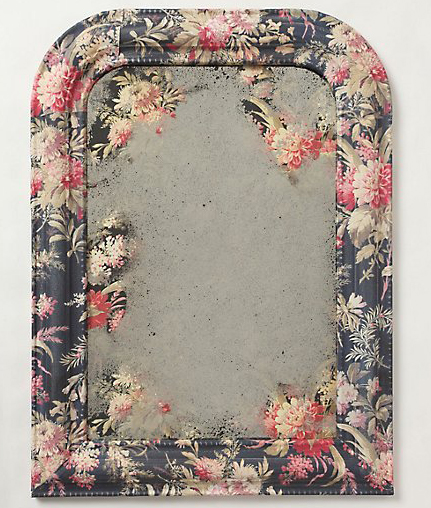 anthropologie inspired mirror project
