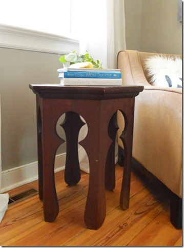 build your own hexagon Moroccan side table, Remodelaholic