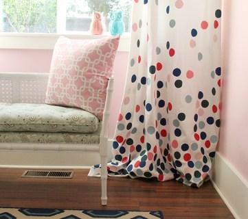 confetti drapes tutorial remodelaholic2