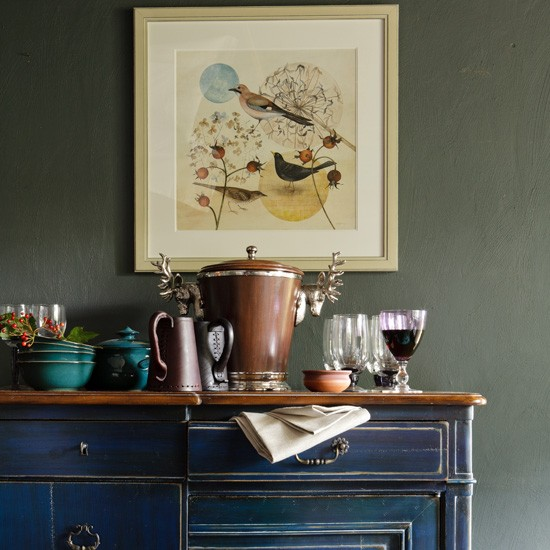 living-room-sideboard-country-Country-Homes--Interiors