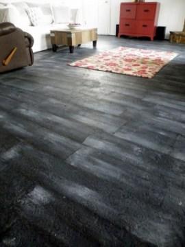 paint concrete floor to look like wood, Twenty Six Fifty Eight