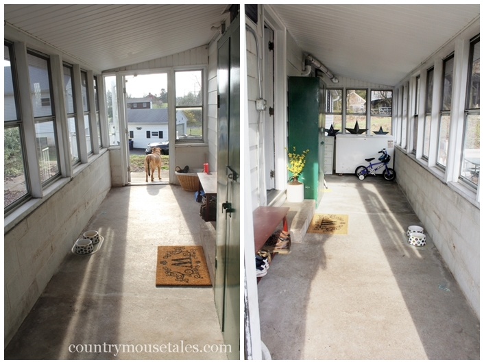 How to paint a concrete floor remodelaholic painted mudroom floor before tyukafo