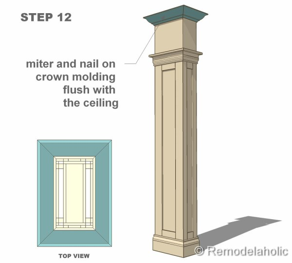 step 12 column construction final