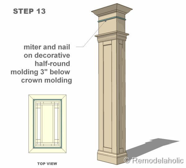 step 13 column construction final