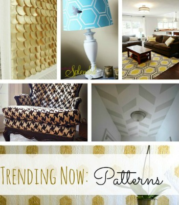 Trendy Geometric Patterns for the Home