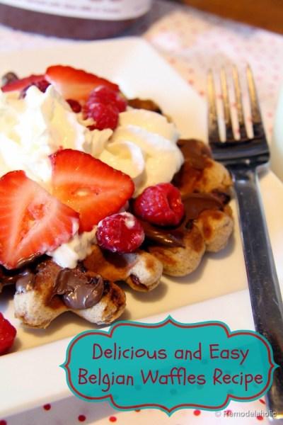 Fast Belgian Waffles Recipe-2a