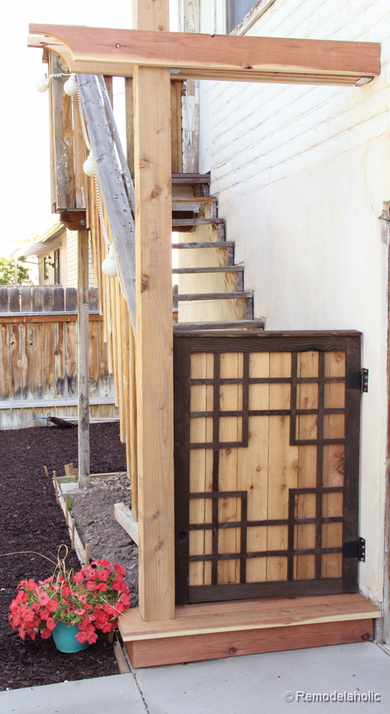 Free Baby gate plans Free Pet gate plans outdoor project-4