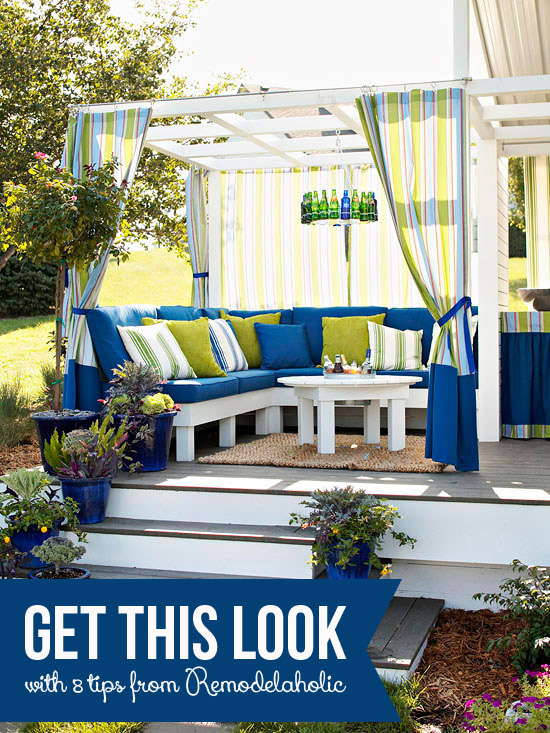 Get This Look - Cozy Outdoor Room