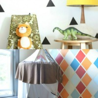 Patterned And Geometric Wall Paint Ideas From Remodelaholic Thumbnail