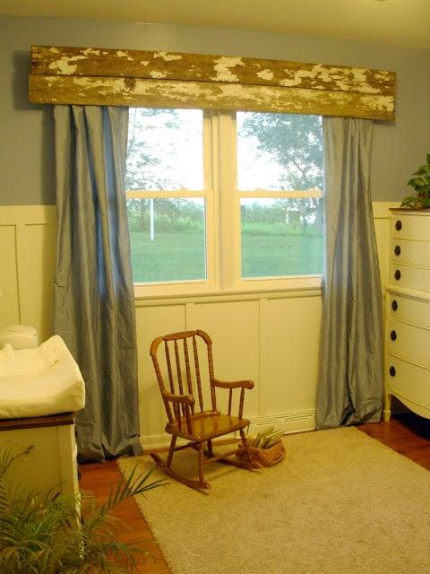 barn wood window valance, Beauty4Ashes