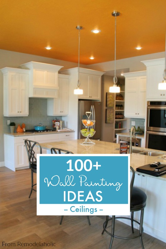 Ceiling Paint Ideas From Remodelaholic